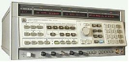 HP/AGILENT 8340A/5/6/7 SWEEP GENERATOR, SYNTH., 10MHZ-26.5GHZ, OPT. 5/6/7